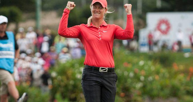 Suzann Pettersen: Wins again on LPGA Tour