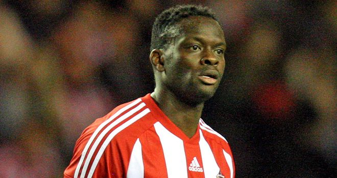 Louis Saha: Would love his first Sunderland goal to come this weekend