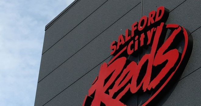 Financially-stricken Salford scored a morale-boosting pre-season win
