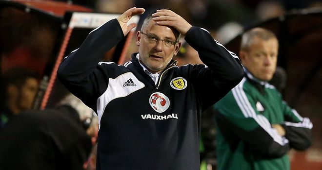 Craig Levein: Deeply criticised for Belgium defeat