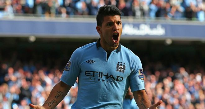 Aguero: Hit the net as City hit form