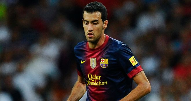 Busquets: highly regarded in Spain