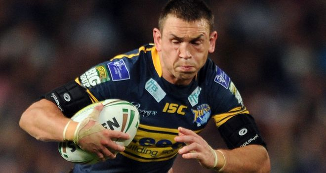 Kevin Sinfield: Succeeds Leeds team-mate Jamie Peacock as England captain