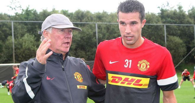 Van Persie: 'We wanted him badly, so we were prepared to go the extra mile'