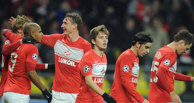 Rafael Carioca's goal had given Spartak the lead