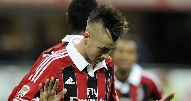 Stephan El Shaarawy: On target for Milan on Friday