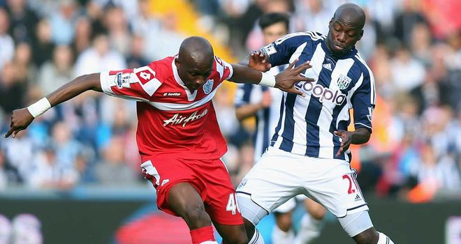 Stephane Mbia: Prepared to give his all in Premier League survival bid