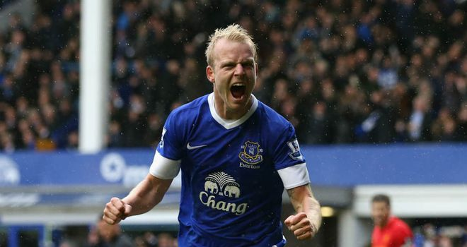 Steven Naismith: Believes there is more to come from him at Everton
