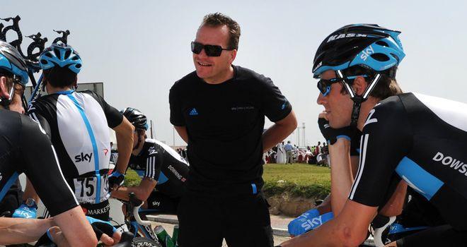 Steven de Jongh (C): One of the founding Sports Directors at Team Sky
