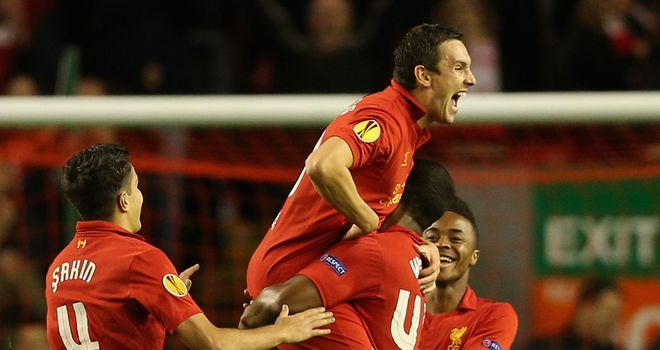 Stewart Downing: The Liverpool wideman has found himself used mainly in the Europa League