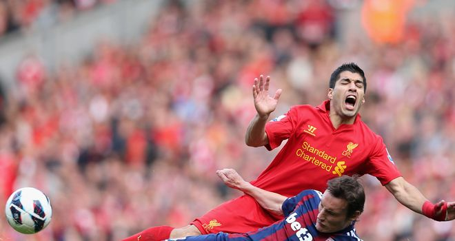 Luis Suarez: Joint-top points scorer in Fantasy Football alongside Robin van Persie