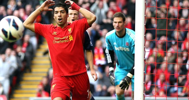 Luis Suarez: Currently serving a 10-match ban