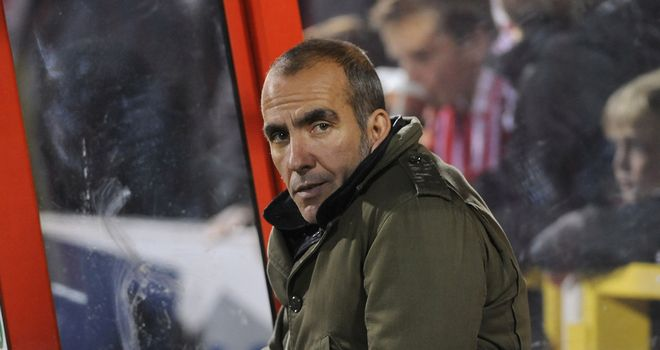 Di Canio: Backed to return to Swindon after leaving post on Monday