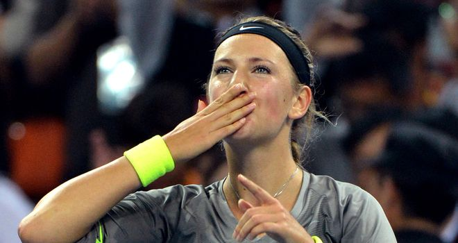 Victoria Azarenka: Looking to end her breakthrough year with a flourish