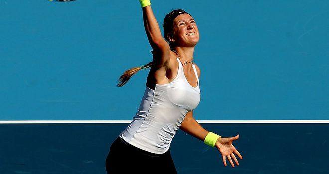Victoria Azarenka: Top seed into semi-finals