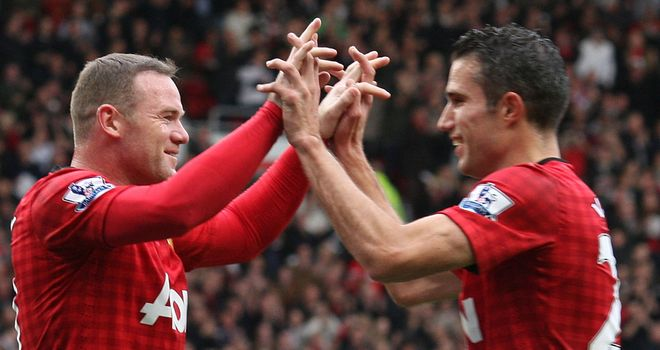 Wayne Rooney and Robin van Persie: Promising start