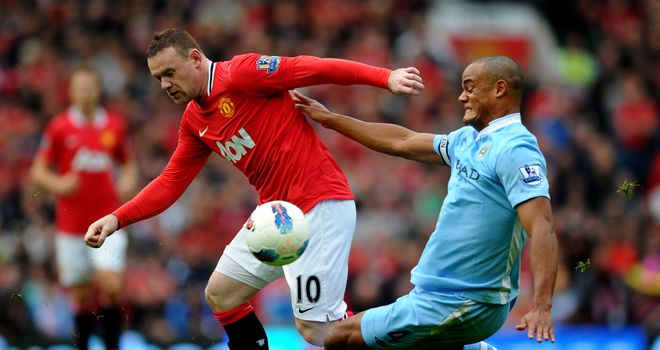 Vincent Kompany: Happy to be facing Wayne Rooney