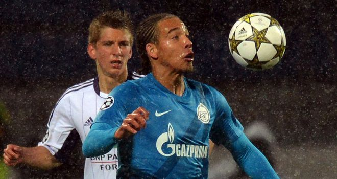 Axel Witsel: From Russia to France?