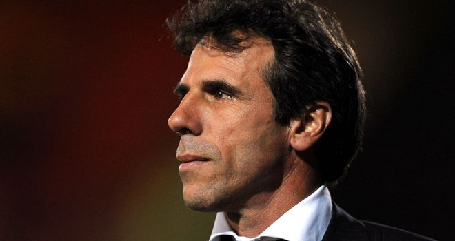 Gianfranco Zola: Delighted with first-half display