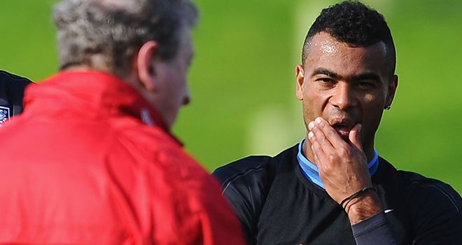 Ashley Cole has been handed a recall by Roy Hodgson