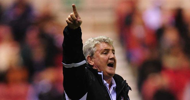 Steve Bruce: A frustrating day at the office