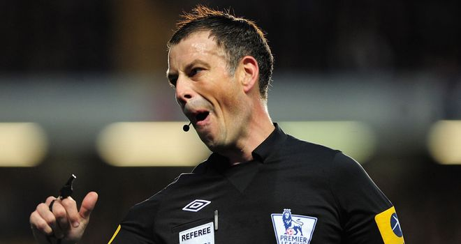 Mark Clattenburg: Accused of 'inappropriate language'