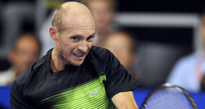 Nikolay Davydenko: Beaten in first round of Kremlin Cup in Moscow