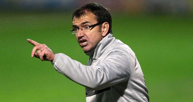 Pat Fenlon: Knows his team face a battle to secure a top six spot