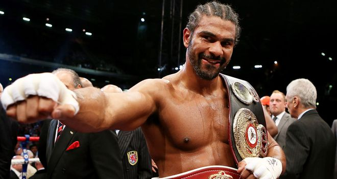 David Haye: Set to announce return to action on Thursday