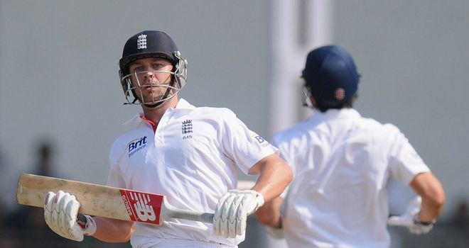 Jonathan Trott: Hit a ton during England's second innings against Haryana