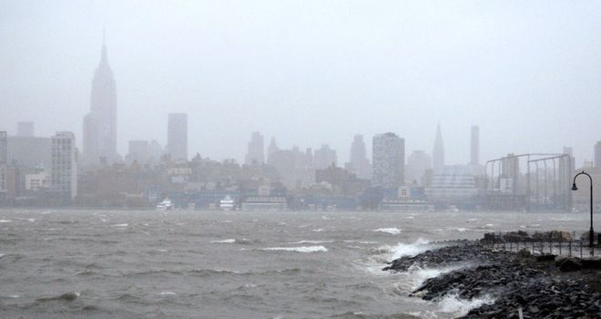 Manhattan: Battered by superstorm Sandy