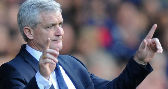 Mark Hughes: Claims he has the backing of the board and has done a huge job since January
