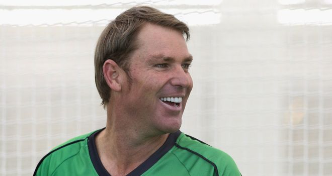 Warne: Legendary spinner will once again be representing Melbourne Stars