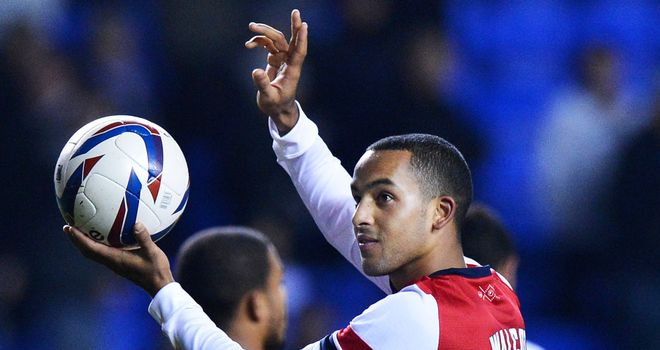 Theo Walcott: gave Arsenal a lifeline before half-time