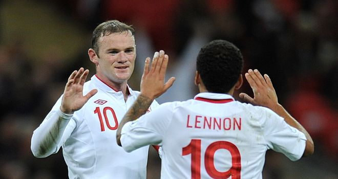 Wayne Rooney: Two goals against San Marino