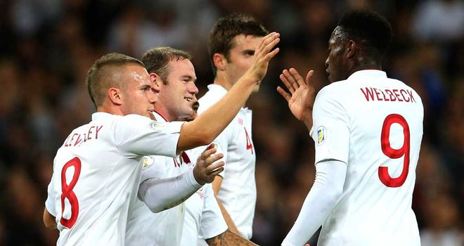 Danny Welbeck and Wayne Rooney: Strike partners for club and country