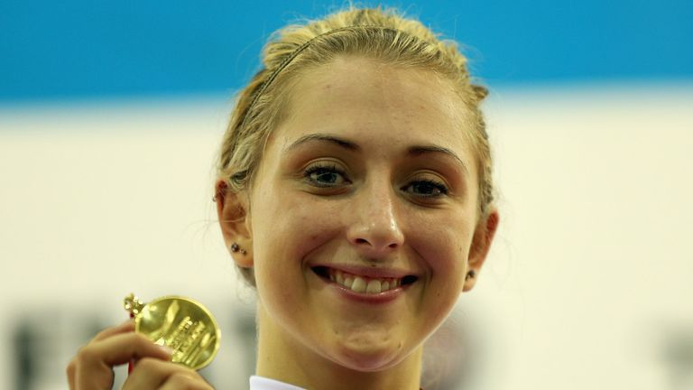 Laura Trott: Gunning for more gold in Rio for 2016