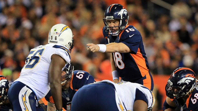 Peyton Manning: Denver Broncos quarterback recovered from early pick six to lead side past San Diego Chargers