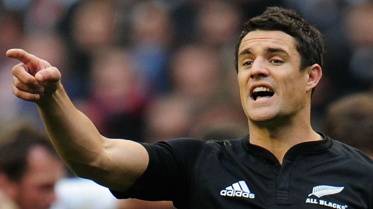 Dan Carter: Will start for New Zealand against England