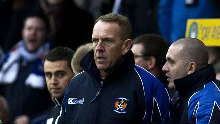 Kilmarnock boss Kenny Shiels was angered by defeat to Dundee United