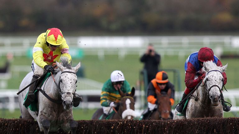 Casey Top (orange): Fine fourth at Cheltenham in last weekend's Paddy Power Gold Cup