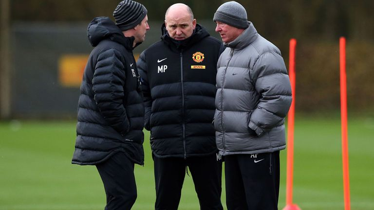 Mike Phelan: Has backed Manchester United's players to bounce back from their Real Madrid defeat