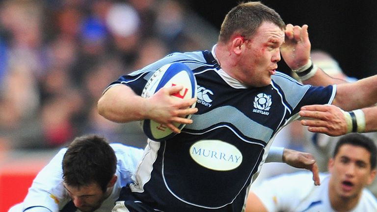 Allan Jacobsen: Has stepped down from the Scotland team