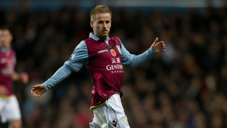 Barry Bannan: Enjoying his run in the Aston Villa starting XI