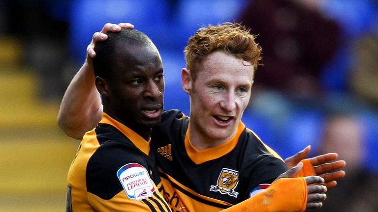 Sone Aluko (left): Hopes to return before the end of the season
