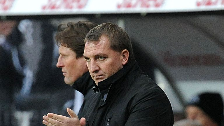 Brendan Rodgers: Dismissive of talk that he was a target for Tottenham before he went to Liverpool