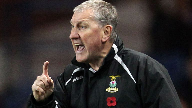 Terry Butcher: Saw his Inverness side go through in the Scottish Cup