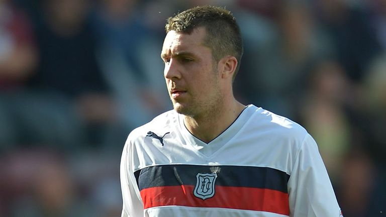 Colin Nish: Has scored two goals in 11 games as a part of Dundee's SPL revival