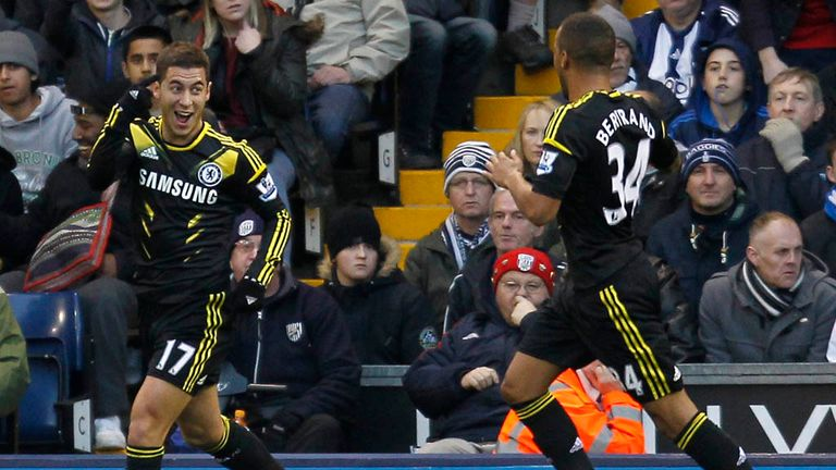Eden Hazard: Has fallen away since his impressive start to his Chelsea career