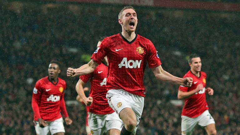 "Darren Fletcher: ""Never-say-die"" attitude at United"